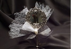 Gümüş Renkli Metal Ayna NS7