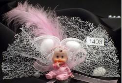 Pembe Tüylü Bebek Şekeri BS1