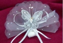 Gümüş Kelebek Nikah Şekeri NS131