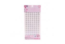 İnci Çiçek Sticker Beyaz 840'lı