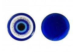 Nazar Boncuğu Plastik Simli 22mm 100'lü