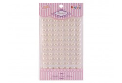 İnci Kalp Sticker Krem 770 Adet