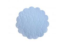 Dantel Desenli Tül 22 Cm 100'lü Beyaz