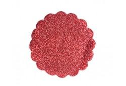 Karlı Tül 18 Cm 100'lü Kırmızı