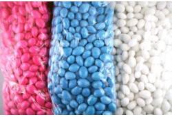 Şeker 1 Kg Mavi Renkli