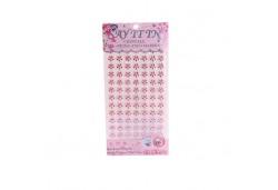 İnci Çiçek Sticker Pembe 840'lı