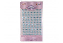 İnci Kalp Sticker Mavi 770 Adet
