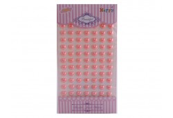 İnci Kalp Sticker Pembe 770 Adet