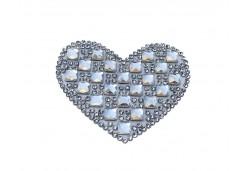 Kalp Ütü İle Yapışan 6.2x4cm 32'li