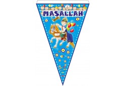 Flama Bayrak Maşallah Sünnet 10'lu