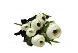Çiçek El Buketi Şakayık Modeli Krem