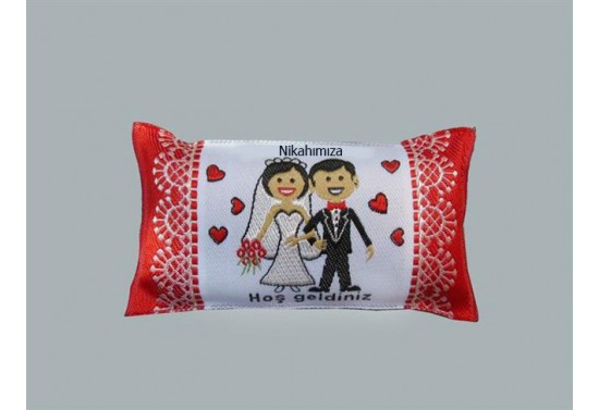 Minik Yastık Nikahımıza Hoşgeldiniz 10'lu