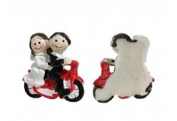 Gelin Damat Motorsikletli Biblo