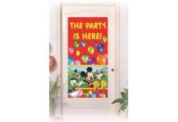 Kapı Banner Mickey Playful