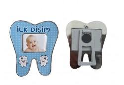ÇERÇEVE İLK DİŞİM PLASTİK MAVİ 1 ADET - AR4649M