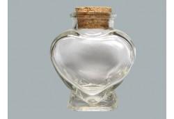 Şişe Mantar Tıpalı Kalpli 16'lı