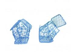 Kuş Kafesi Ev Modeli Mavi