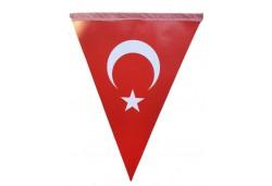 Flama Türk Bayrağı 10'lu