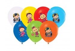 BALON 4+1 PEPEE BASKILI PASTEL 100 ADET   - BE7321