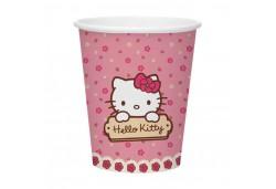 Bardak Hello Kitty 180/200 Cc 8'li Parti Malzemesi
