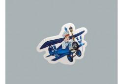 Sticker Sünnet Çocuğu Uçakta 50'li