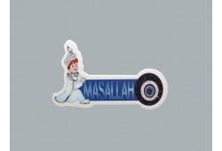 Sticker Sünnet Çocuğu Maşallah Nazarlı 50'li