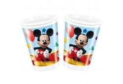 Bardak Mickey Playful Plastik 8'li