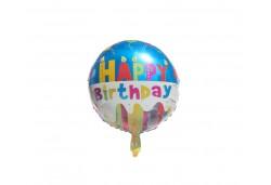Folyo Balon Happy Birthday 10'lu