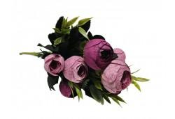 Çiçek El Buketi Şakayık Modeli Mor