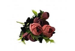 Çiçek El Buketi Şakayık Modeli Kırmızı