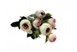 Çiçek El Buketi Şakayık Modeli Pembe