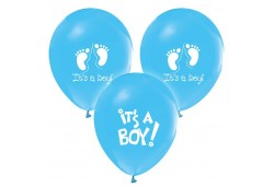 Balon It'S A Boy Pastel Mavi 100'Lü