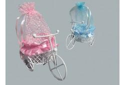 Bisiklet Sepetli Keseli Pembe
