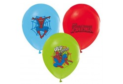 BALON 4+1 SPIDERMAN BASKILI PASTEL 100 ADET  - BE8274