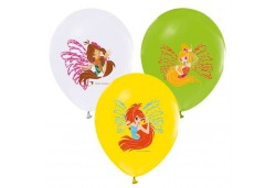 BALON 4+1 WINX POWERMENT BASKILI 100 ADET  - BE2215