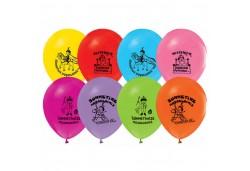 Balon Sünnet Serisi Baskılı 100'lü