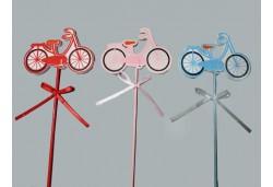 Bisiklet Çubuklu Kırmızı 1 Adet