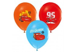 BALON 4+1 THE CARS BASKILI PASTEL 100 ADET  - BE4658