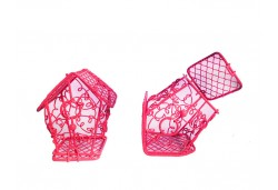 Kuş Kafesi Ev Modeli Kırmızı