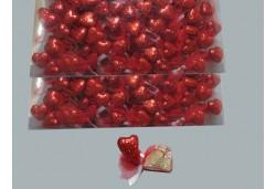 Kına Kırmızı Kalpli Strafor 100'lü