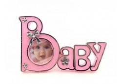 Çerçeve Baby Yazılı Pembe 1 Adet