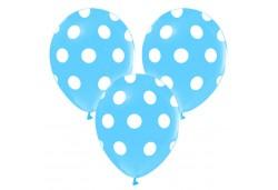 Balon Puantiyeli Mavi 100'lü