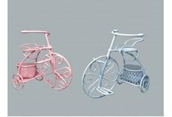 Bisiklet Tel Sepetli Mavi