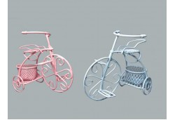 Bisiklet Tel Sepetli Mavi 1 Adet