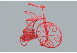 Bisiklet Tel Sepetli Kırmızı 1 Adet