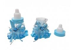 Biberon Süslü Mavi 1 Adet