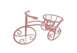 Bisiklet Tel Minik Sepetli Pembe