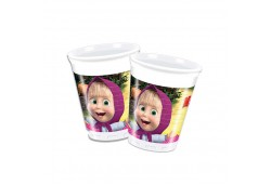 Bardak Masha And The Bear 180/200cc 8'li