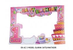 Çerçeve 1 Yaş Hapy Birthday