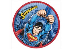 TABAK SUPERMAN 23 CM 8 ADET - BE0066